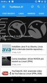 tuxnews app linux