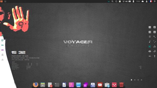 Voyager 16.04 Xfce