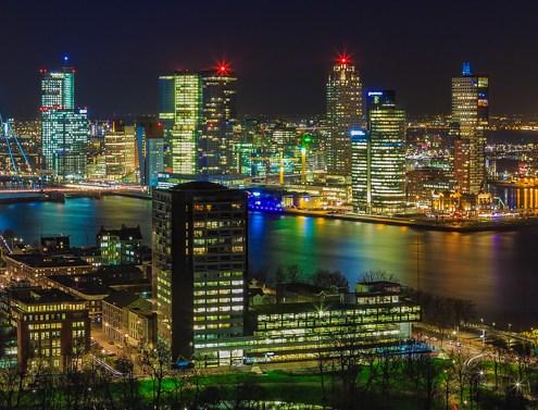 Rotterdam Skyline - Uitzicht vanaf de Euromast - 8