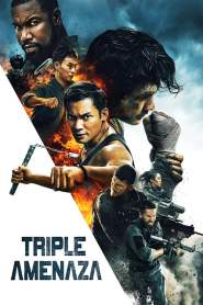 Poster de Triple Amenaza / Triple Threat