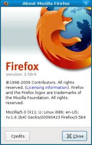 Firefox 3.5 Beta