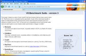 V8 Benchmark-Firefox 3.5b4