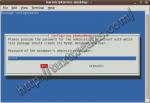 Enter MySQL root password