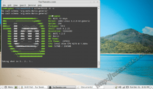 install screenFetch on Linux Mint 13