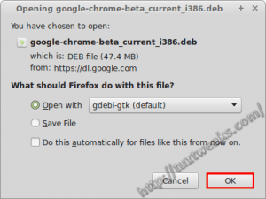 Download Install Chrome Beta Linux