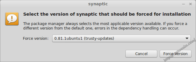 Mark All Upgrades in Synaptic on Linux Mint 17 - Tux Tweaks