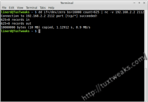 Linux Network Speed Test