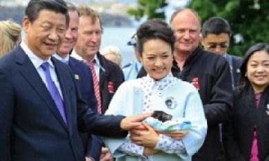 Chủ tịch Trung Quốc Tập Cận Bình và phu nhân trong chuyến thăm bang Tasmania của Úc