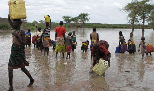 voda afrika