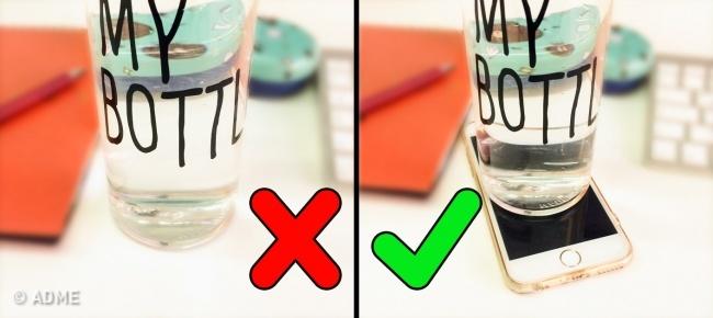 Mobilni telefon kao podsetnik da piješ vodu