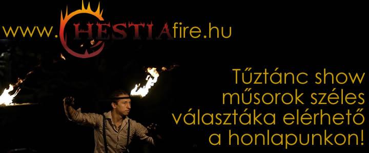 Hestia tűztánc műsorok rendelés
