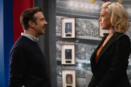 Ted Greets Rebecca - Ted Lasso Season 1 Episode 1