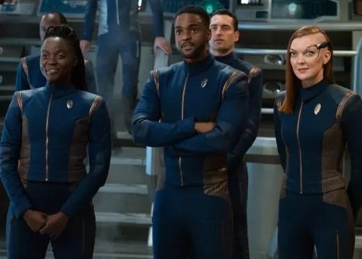 Bridge Trio - Star Trek: Discovery Season 3 Episode 7
