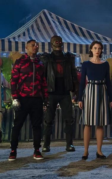 Vic,Cliff, and Rita - Doom Patrol Season 2 Episode 9
