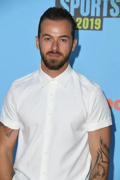 Artem Chigvintsev attends Nickelodeon Kids' Choice Sports 2019