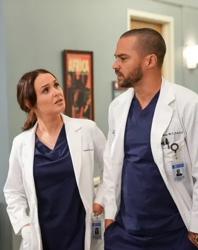 J & J - Tall  - Grey's Anatomy Season 16 Episode 14
