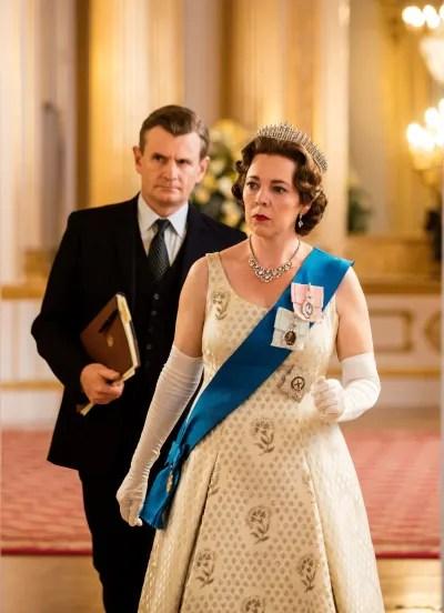 The Queen in her Crown