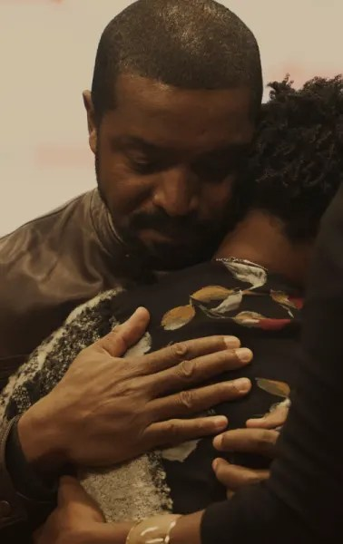 McAvoy Hug Mama Kenia - Coroner Season 1 Episode 6