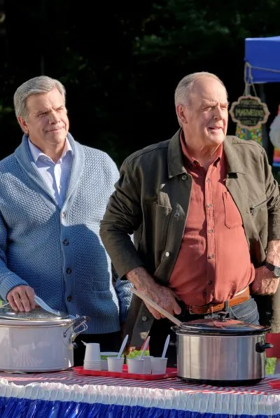 Tom and George at the Chili Cookoff - Good Witch Season 6 Episode 2