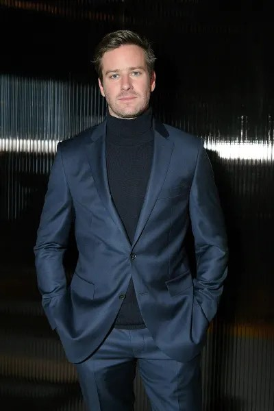 Armie Hammer participates in BOSS menswear event