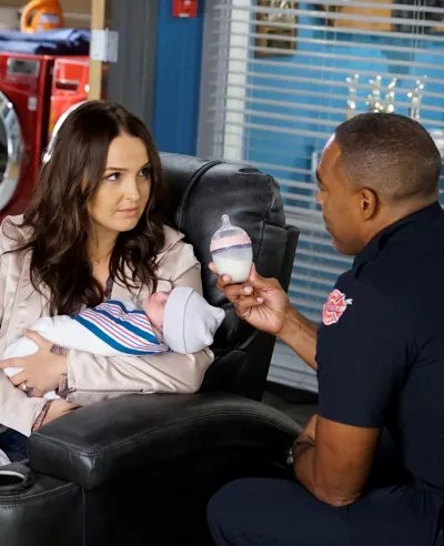 A Baby at Station 19 - tall  - Grey's Anatomy Season 16 Episode 9
