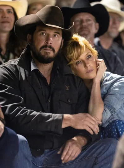 Rip and Beth at the Rodeo - Yellowstone Season 3 Episode 3