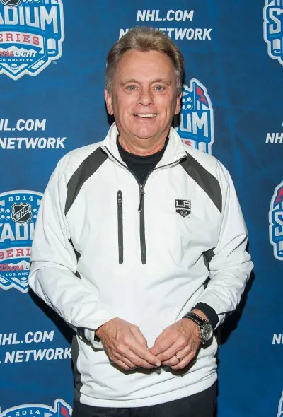 Pat Sajak Attends NHL Event