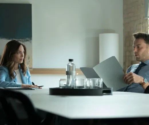 Billy and Joanna Going Over Finances - Burden of Truth Season 3 Episode 1