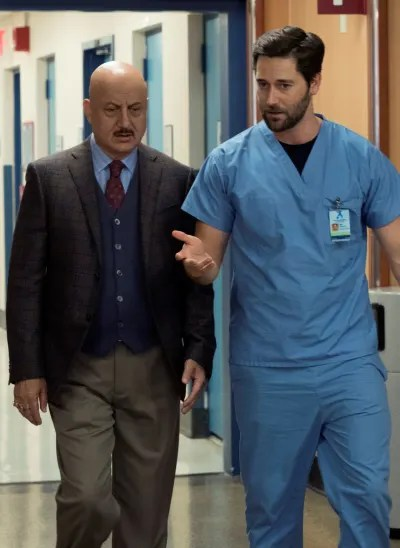 Max and Kapoor On the Move - Tall  - New Amsterdam Season 2 Episode 1
