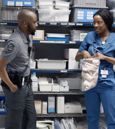 June Dismisses Lou - Transplant Season 1 Episode 3