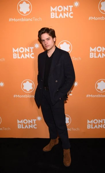 Dylan Sprouse Attends Montblanc Event