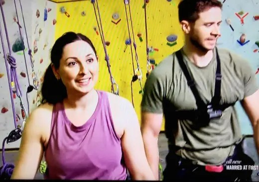 Rock  Climbing  Date  - Married at First Sight Season 11 Episode 10