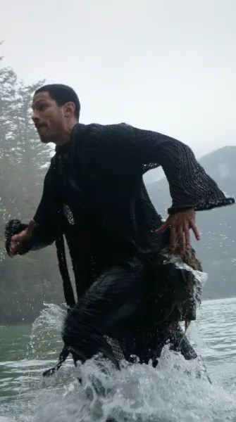 Gabriel in Water - The 100 Season 7 Episode 2