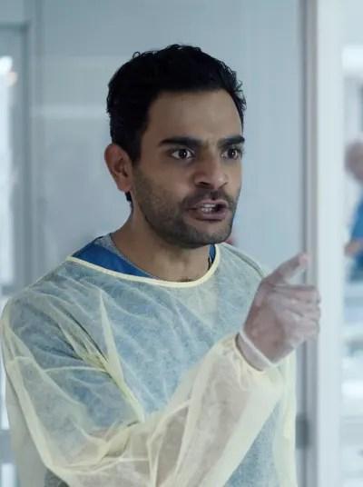 Bashir Loses His Cool - Transplant Season 1 Episode 3