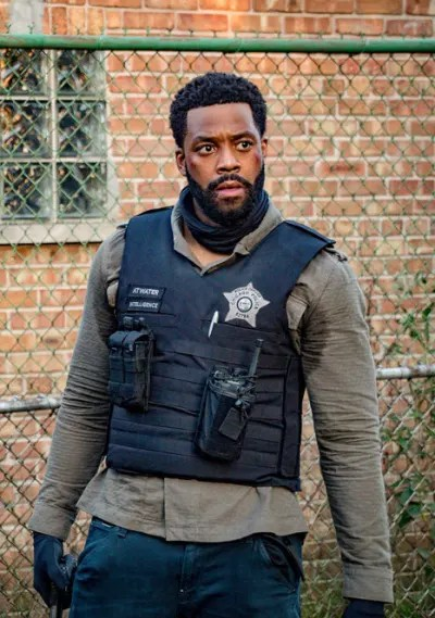 Atwater versus the police - Chicago PD Season 8 Episode 2