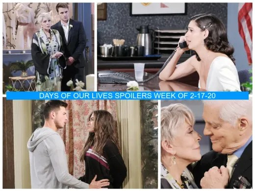 Days of Our Lives - Spoilers Week of 2-17-20