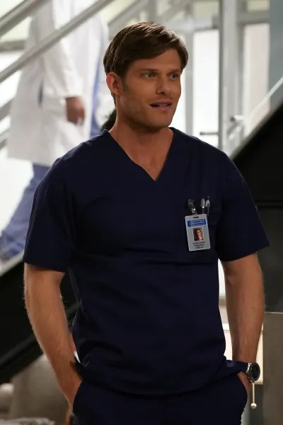 Link is Amused  - Grey's Anatomy Season 16 Episode 20