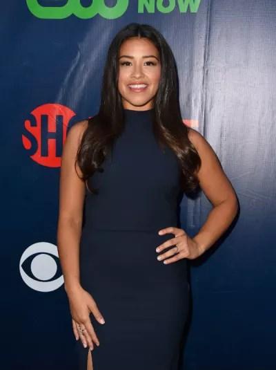 Gina Rodriguez at CBS/TCA party - Jane the Virgin