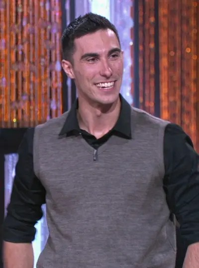 Contestant Evan Phillips on Card Sharks