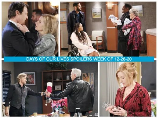Days of Our Lives Spoilers Week of 12-28-20 - Days of Our Lives