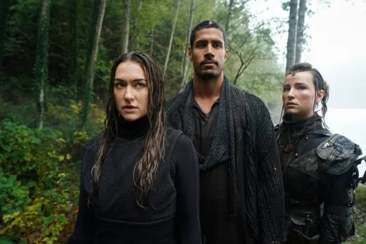 Echo, Hope, and Gabriel  - The 100 Season 7 Episode 2