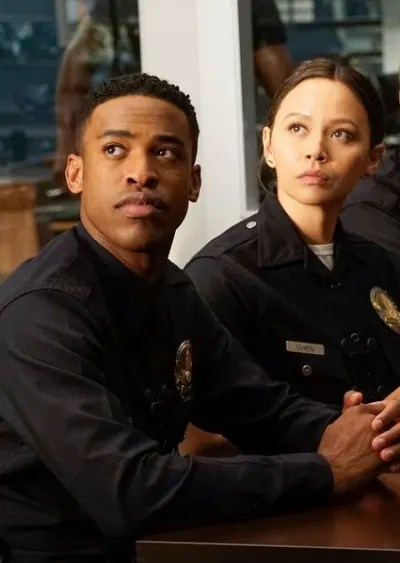 Officers West and Chen - The Rookie Season 2 Episode 4