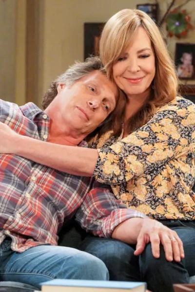 Bonnie Hugs Adam - Mom Season 7 Episode 8
