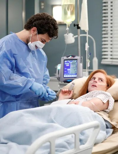 Saving Suzanne -Tall  - Grey's Anatomy Season 16 Episode 14