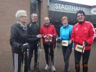 Nordic-Walker vor dem Start