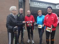 Nordic-Walker vor dem Start