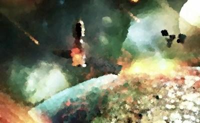 『アースフォール 地球壊滅』(B級映画 2015年) あらすじ&ネタバレ 宇宙空間を暴走する地球を救えるか!?