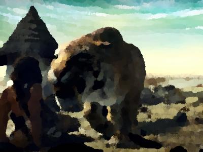 『紀元前1万年』(2008年) あらすじ&ネタバレ スティーヴン・ストレイト&カミーラ・ベル主演