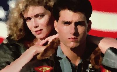 『トップガン』(1986年) あらすじ&ネタバレ トム・クルーズ,ケリー・マクギリス主演