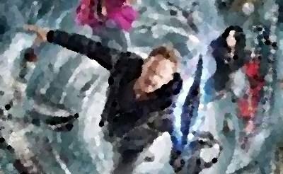 『シャークネード5 ワールド・タイフーン』(B級映画 2017年) 息子ギルがさらわれ! ラストシーンが!?